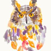 """Owl 18"""" Square"""