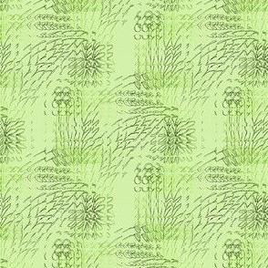 Botanical Green Tile