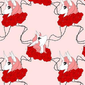 Red Rose Unicorn