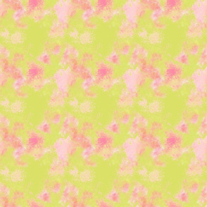watercolor blender -pink green