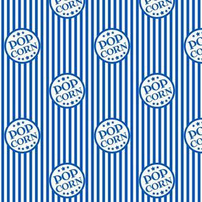 Fresh Delicious Popcorn (picnic blue, small)