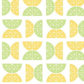 Lemon & Lime Squeeze, White