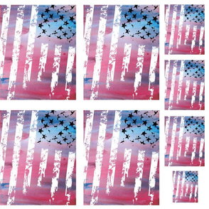 United States Flag Appliques