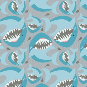 Shark Paisley