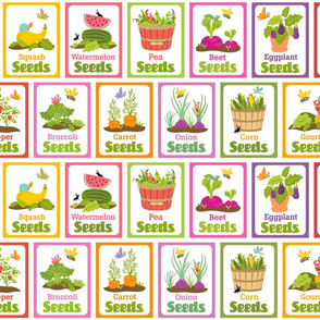 Little Cuties Garden Seed Packets