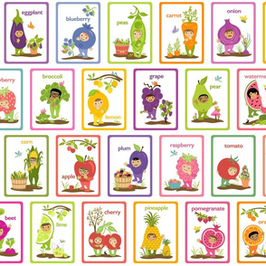 Little Cuties Garden Cards