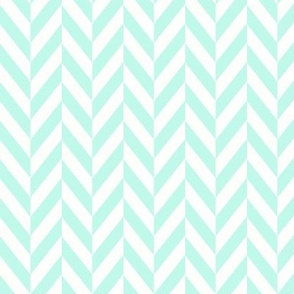 mint-herringbone