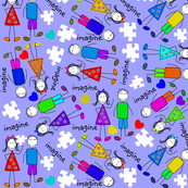 Autism Kids Puzzle Pieces II