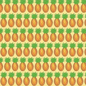 Tropical Pineapples Print