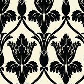 Sherlock Wallpaper Plain Cream Large