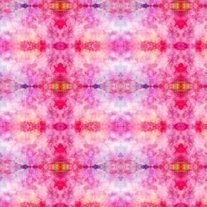 DREAM OF A ORANGE PINK SEA GARDEN soft geometry 1
