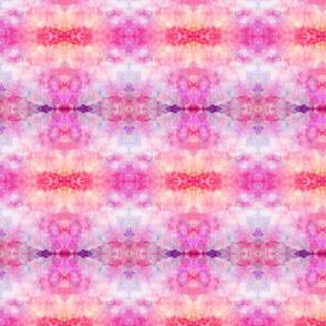 DREAM OF A ORANGE PINK SEA GARDEN soft geometry 2