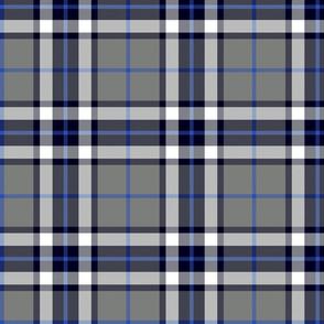 Thomson / Thompson tartan - grey and blue