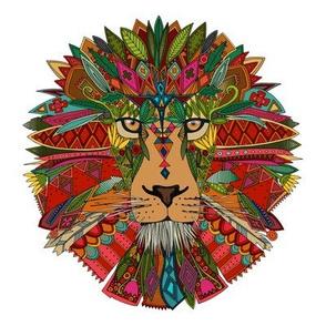 lion swatch