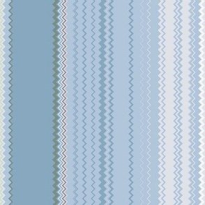 Lines 15 Violets (Chevron)