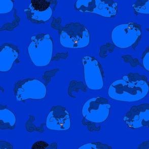 Fu-Dog Blue