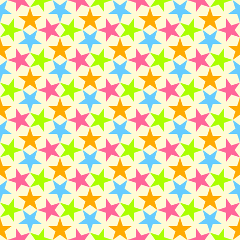S43XCV1 : neon baby stars