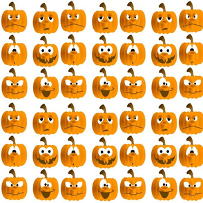 PUMPKIN HEADS
