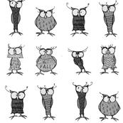 Mono owls