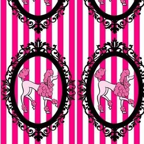 framed_pink_poodle