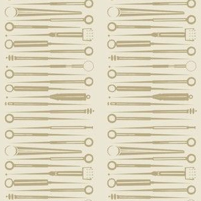 Acupuncture tools-taupe