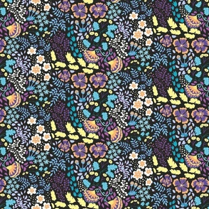 August bloom purple
