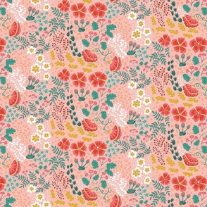 August bloom pink