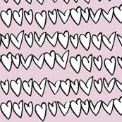 pink hearts -  elvelyckan