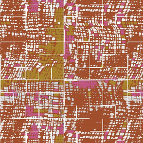 Orange textured print