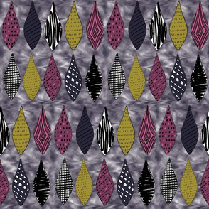 Patterned Teardrops