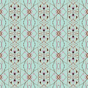 Owls & Kitty-cats (Turquoise)