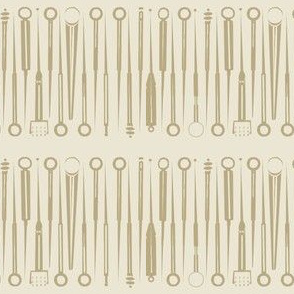 Acupuncture tools-taupe-ed