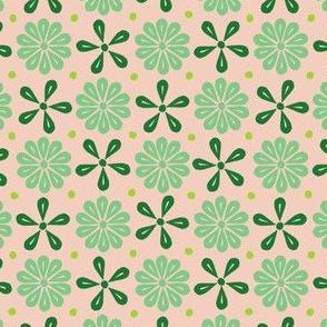 Peoria Flowers - Minty Dusk