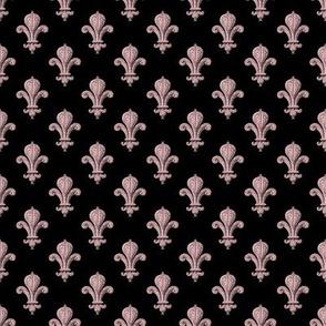 Fleur~de~Lys ~ Dauphine on Black
