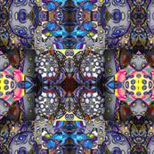 op-art patchwork