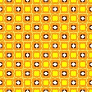 Poppy Field in Plush Orange