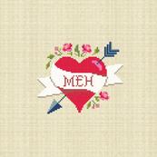 Meh (8 x 8 panel)