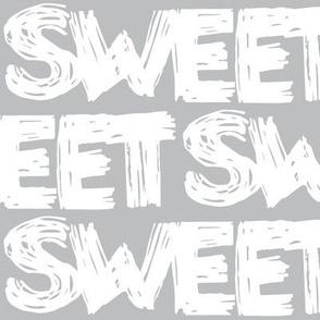 Sweet Grey Scribbles