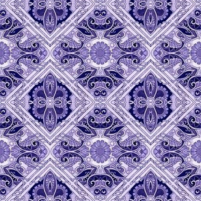 4556973 Purple Paisley Patch