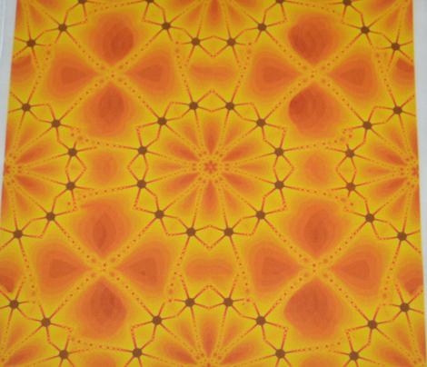 Glittering Sunlight Chain Web