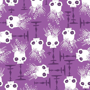 Scattered Skulls - twilight - small