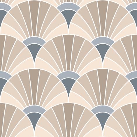 custom beige/slate fan
