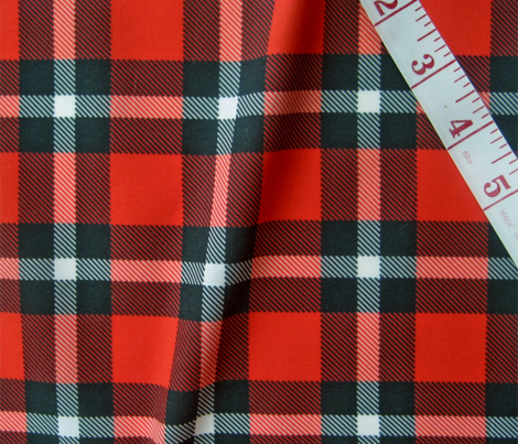 Classic lumberjack, thin white stripe by Su_G