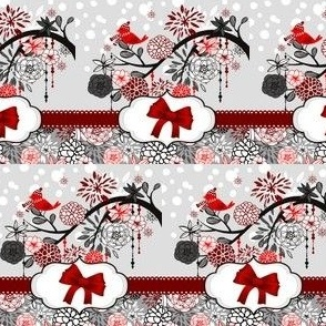 robin_flowers_trees_bows_christmas