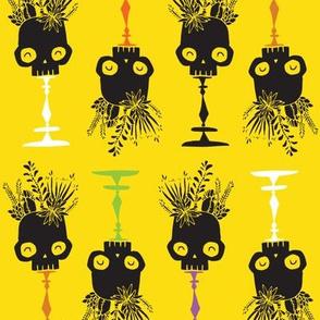 Tidy Skulls - toxic - small