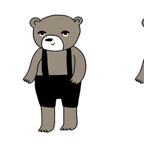 teddy bear // cut and sew plush plushie pillow teddy bear bear