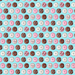 small donut fabric