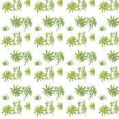 Dinosaur Toile Green