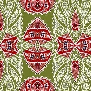 mexican_influances_geometric_incan_design_pattern