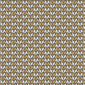 Knit in Gold/Heather